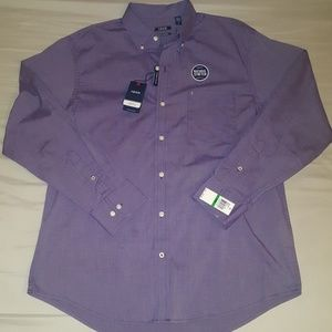 Izod mens button down